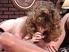 Retro blonde having a great fuck