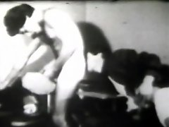Sex-starved boys engage in gay fucking in this vintage video