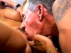 Classic Hot Brunette Cougar Smoking Sex