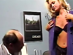 Classy chick in vintage doctor fuck