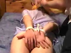 An Internet classic: Tied, fingered and toyed