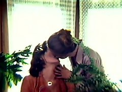 Retro Natural Redhead Lesbians Kiss and Eat Each Others Hairy Pussies
