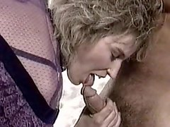 Curly-haired milf love to feel dick in her puss