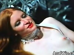 Ginger With A Hairy Pussy Doing Anal Classic