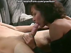 Slutty blonde curly officer sucks strong cock for semen in the jail