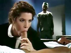 Best classic sex video with threesome and DP