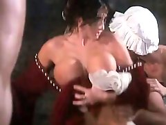 The babes of Renaissance love massive orgies and double penetrations