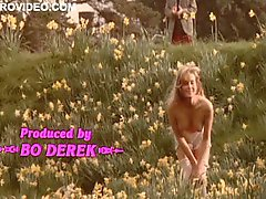 Worlds Hottest Vintage Celeb Bo Derek Strips Outdoors