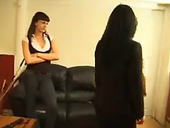 Strict and Hard Spanking Video