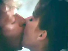 Sensual classic scene with kissing and screwing