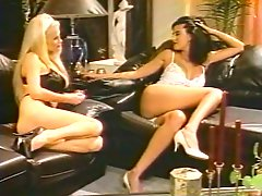 Super sexy busty lesbians perform hot 69 positions ex on sofa