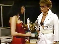 Horny Sluts Enjoy Dildo Fuck In Retro Scene
