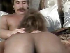 Sade  Black Booty Babe Plugged By White Cock