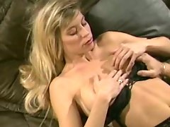 Sexy blonde gets cumshots on her big beautiful ass