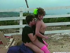 Retro Fuck Scene Outdoors.