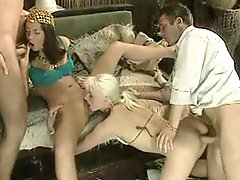 Horny Sluts Get A Meat Injection