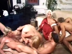 Retro sex party