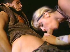 Peter North cum shot on hot pussy