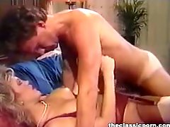 Vintage orgasm in missionary position