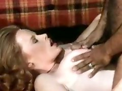 Bosomy retro chick wearing sexy lingerie gets her ass slammed hard
