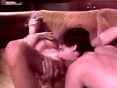 Swedish retro blonde slut gives head and gets her pussy licked in return