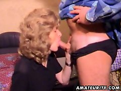 Mature amateur wifes homemade video of a blowjob