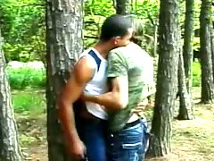 Classic  amateur movie from the forest