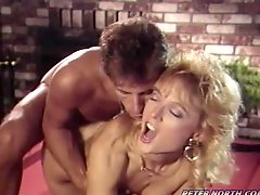 Nina Hartley gets a good hard fuck on a pool table