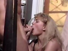 Retro hardcore double penetration and orgy
