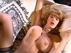 Dirty blonde whore is butt fucked from behind. Retro porn vid