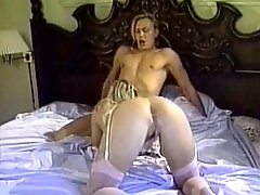 Bootylicious blond slut swallows deep throat massive cream stick