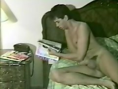 Beautiful Dude Masturbates In A Retro Solo Model Video