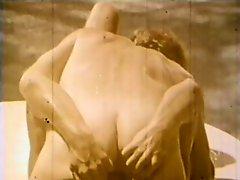 Vintage clip featuring some intense orgasms for handsome men