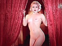 Sexy erotic blonde Mosh in the nice vintage video