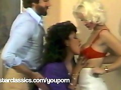 SEKA and Vanessa Del Rio classic threesome fuck party